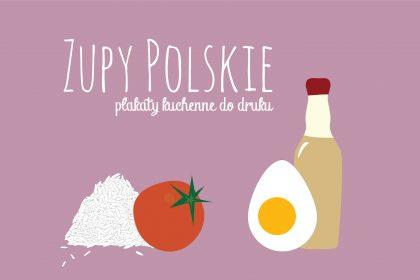 zupy1 420x280 - Zupy polskie. Plakaty do kuchni