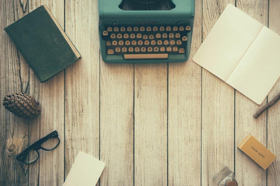 typewriter 940x627 - Godzina dziennie codziennie. O tym, co mi dało pisanie na czas