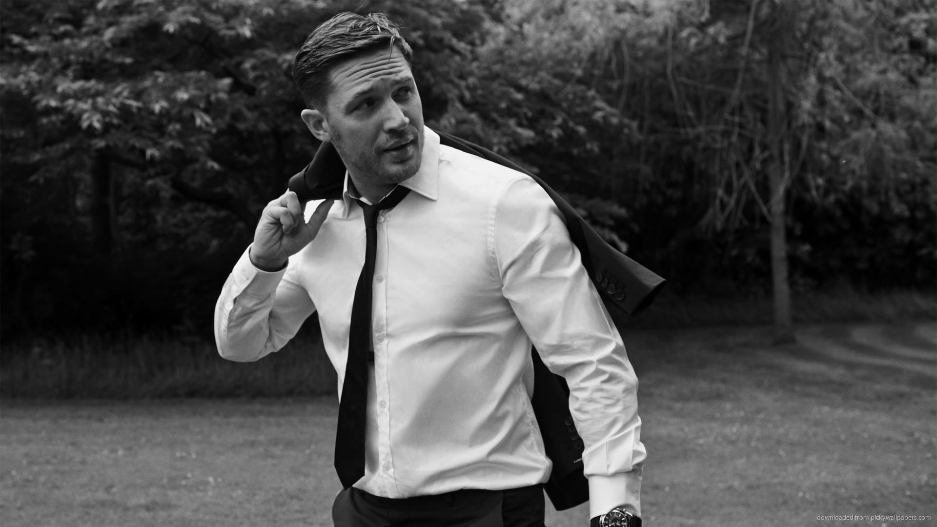 tom hardy wearing white shirt - Kto zagrałby w moim filmie?