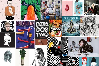 ilustratorki 420x280 - 7 polskich ilustratorek, które warto znać