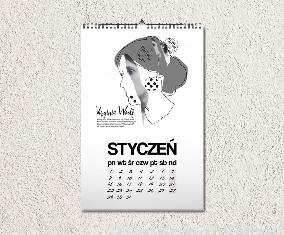 cld - Rok praw kobiet. Pierwsza kartka z kalendarza dla Was