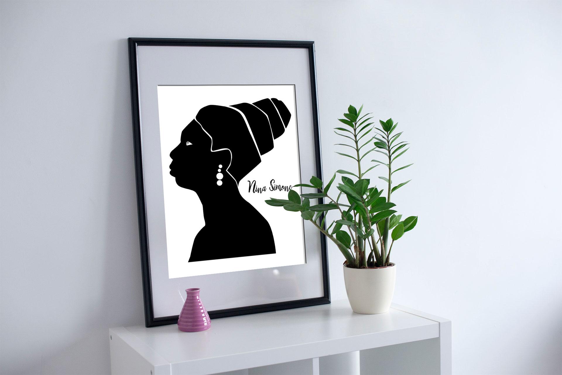 nina mc - Feministyczny kalendarz. Nina Simone na luty