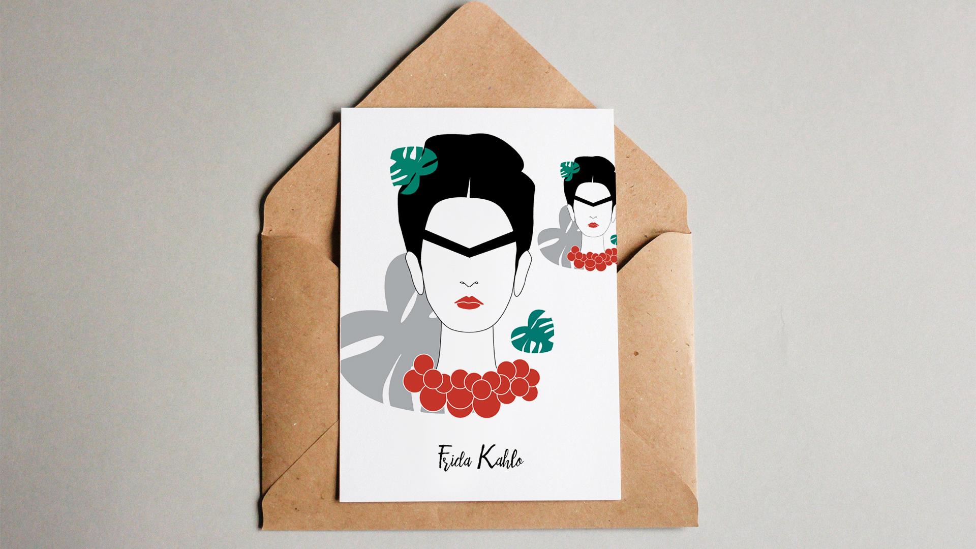 frida kahlo - Feministyczny kalendarz. Frida Kahlo na lipiec