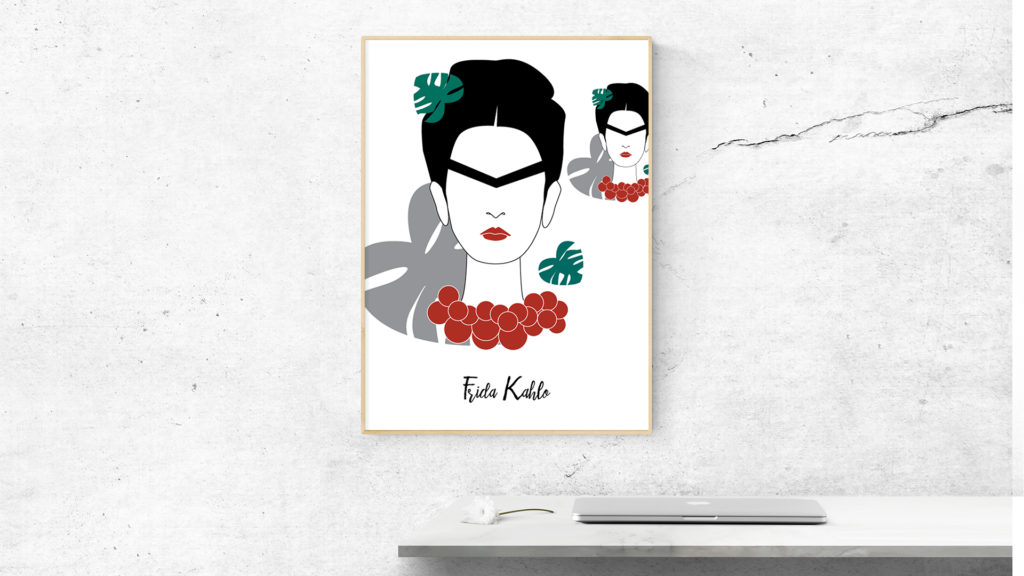 frida poster 1024x576 - Feministyczny kalendarz. Frida Kahlo na lipiec