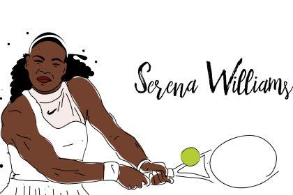 serena 2 420x280 - Feministyczny kalendarz na wrzesień. Serena Williams