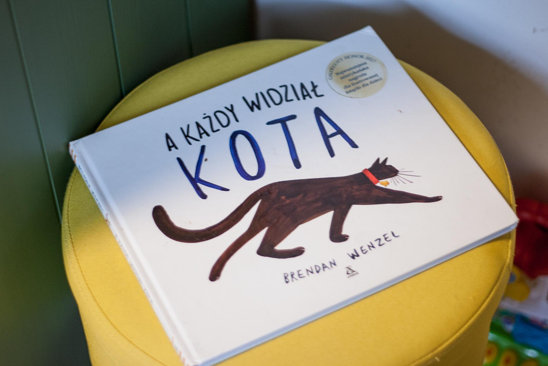 kota - Nasze ulubione książki o zwierzętach