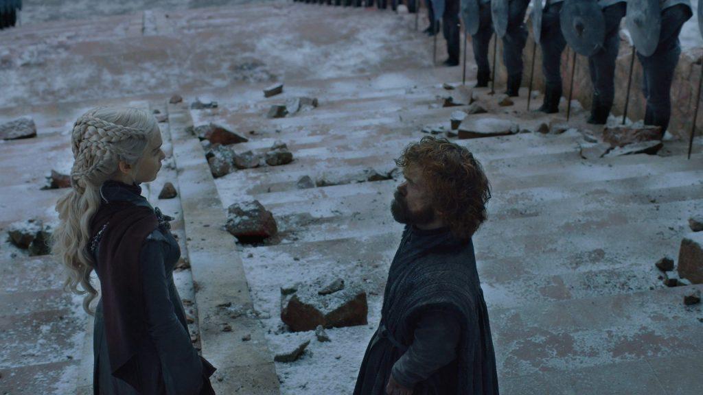 Game of Thrones Finale dany tyrion 1024x576 - Ten serial, który wszyscy oglądali w końcu się skończył. Czyli co było nie tak z finałem Gry o Tron
