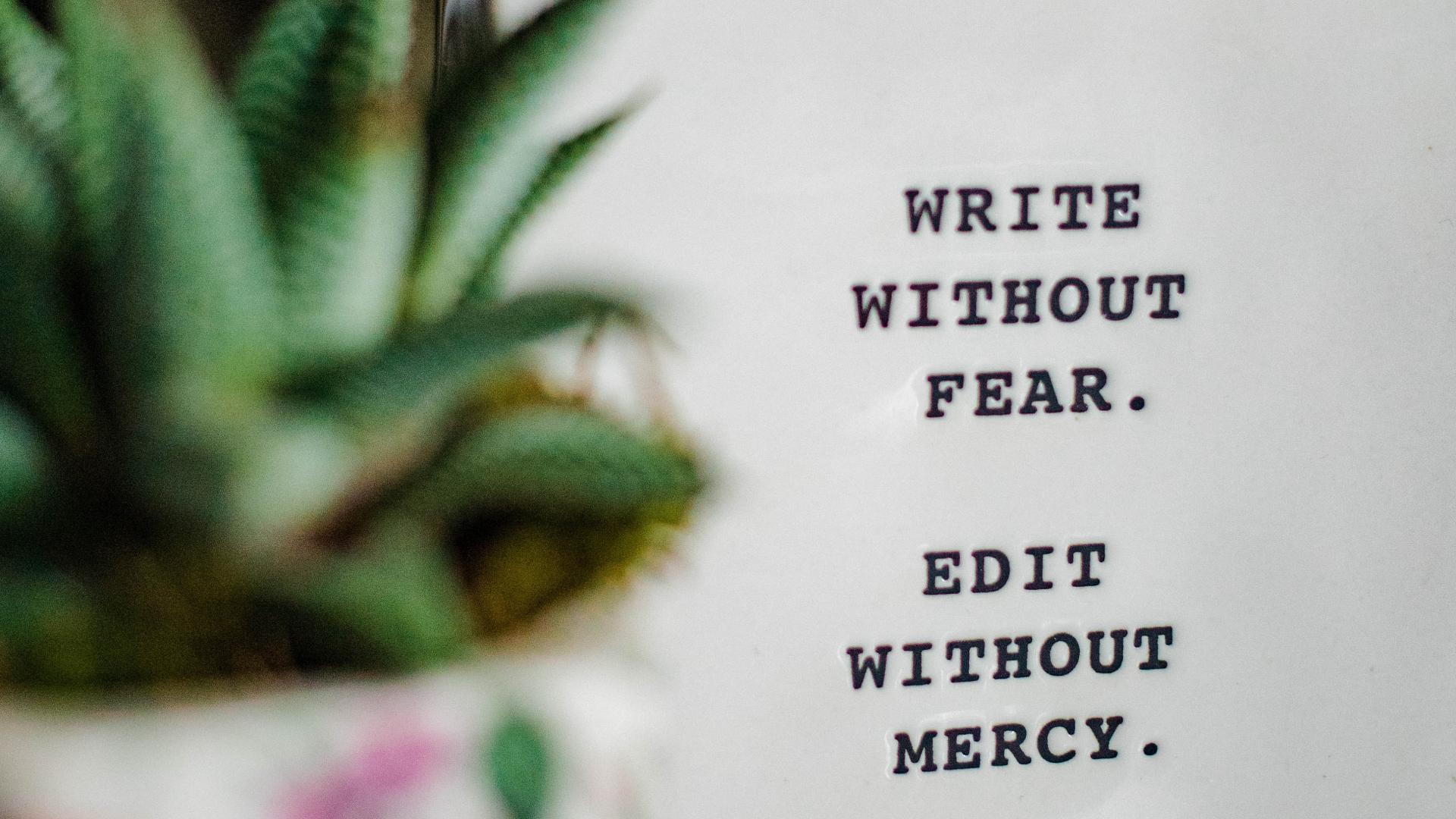 write - Piszę książkę i co to oznacza